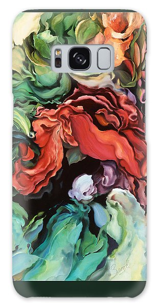 Dancing For Joy - Acrylic Painting - Original Art Galaxy Case