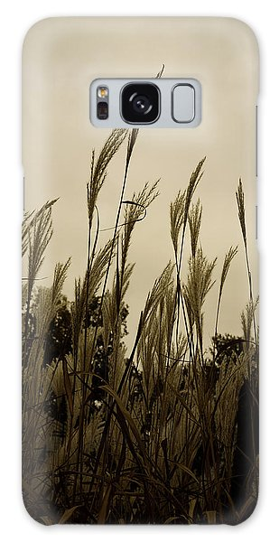 Dancing Grass Galaxy Case