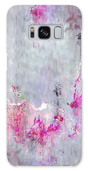 Dancing In The Rain - Abstract Art Galaxy Case