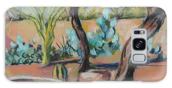 Dancing Mesquite Trees Galaxy Case