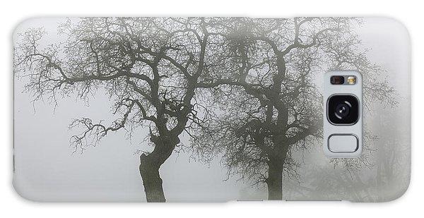 Dancing Oaks In Fog - Central California Galaxy Case