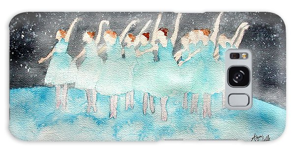 Dancing On Top Of The World Galaxy Case by Ann Michelle Swadener