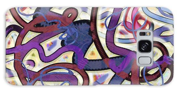 Dancing P Galaxy Case by Gabrielle Schertz