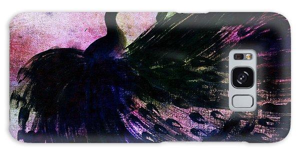 Dancing Peacock Rainbow Galaxy Case by Anita Lewis