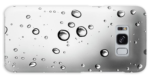 Dancing Raindrops Galaxy Case by Susan Stone