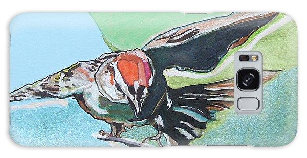 Dancing Sparrow Galaxy Case