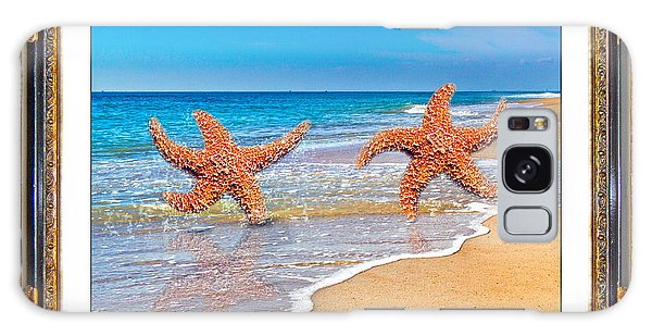 Framing Galaxy Case - Dancing To The Beat Of The Sea by Betsy Knapp