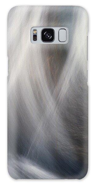 Dancing Water Galaxy Case by Kathy Bassett