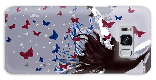 Dancing With Butterflies Galaxy Case by Denise Deiloh