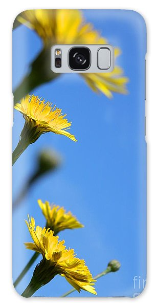 Dancing With The Flowers Galaxy Case