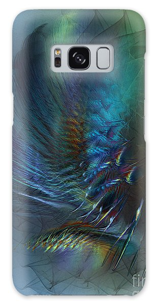 Dancing With The Wind-abstract Art Galaxy Case