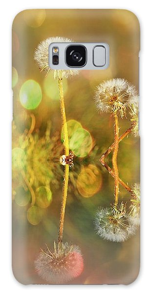 Dandelion Delight Galaxy Case