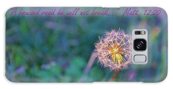 Dandelion Encouragement Galaxy Case