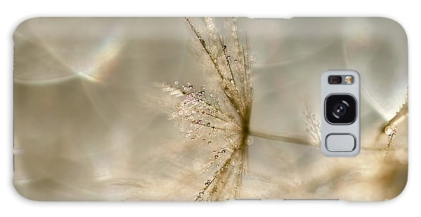 Dandelion Heaven Galaxy Case by Peggy Collins