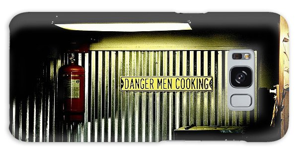 Danger Men Cooking Galaxy Case