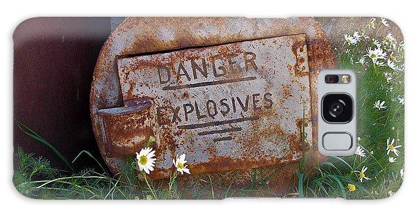 Danger Explosives Galaxy Case