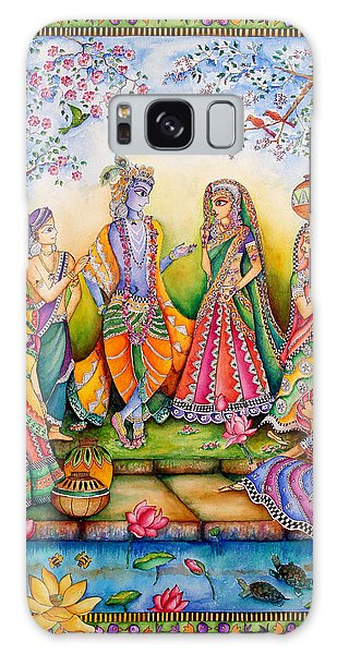 Madhubani Galaxy Case - Danghaati by Gaura Aggarwal