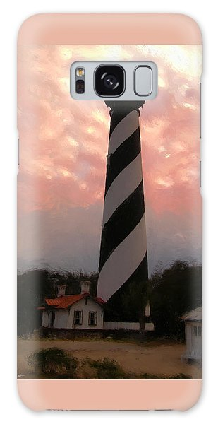Da127 St. Augustine Lighthouse By Daniel Adams Galaxy Case