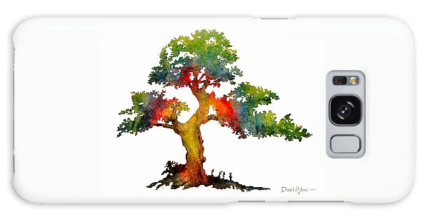 Da140 Rainbow Tree Daniel Adams Galaxy Case