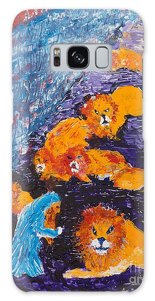 Daniel And The Lions Galaxy Case