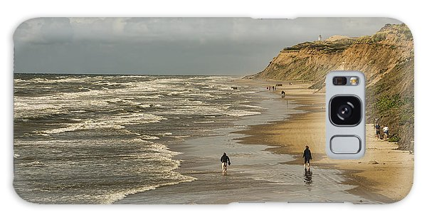 Danish Beach In North Jutland Galaxy Case