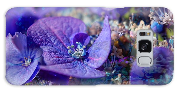 Dappled Hydrangea Galaxy Case by Adria Trail