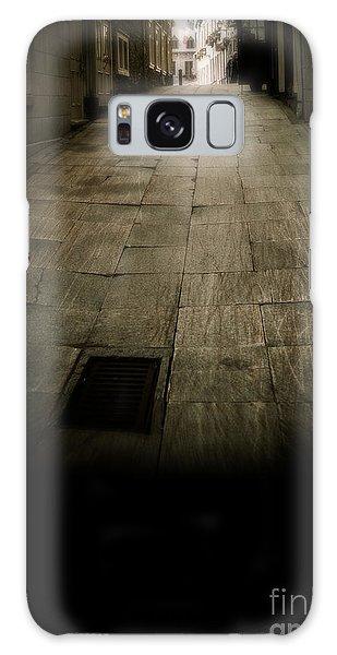 Quebec City Galaxy Case - Dark Alley In Old Historic City by Edward Fielding
