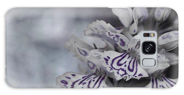 Dark Angel Of Flowers Galaxy Case