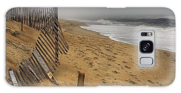 Dark Beach Galaxy Case