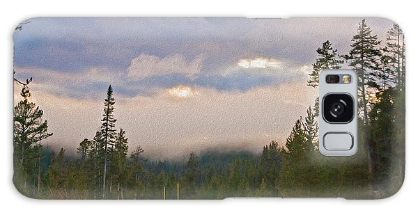 Dark Forest Morning Galaxy Case