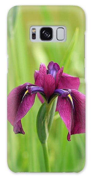 Dark Magenta Iris Galaxy Case