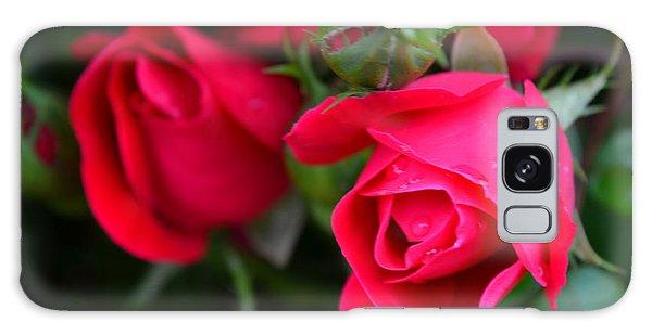 Dark Pink Roses #1 Galaxy Case