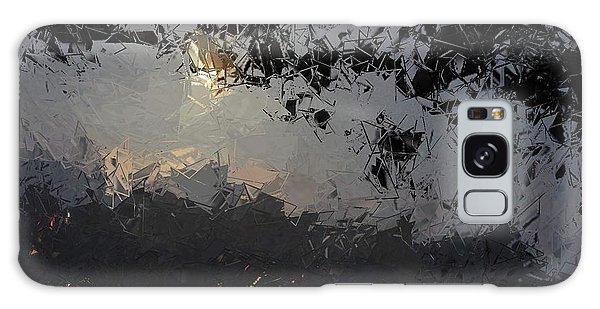 Dark Rain Galaxy Case by The Art of Alice Terrill