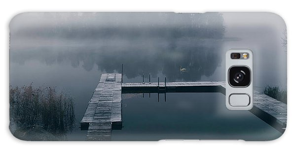 Pier Galaxy Case - Dark Reflections by Christian Lindsten