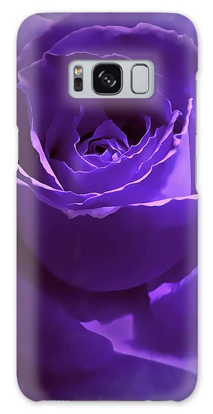 Dark Secrets Purple Rose Galaxy Case by Jennie Marie Schell