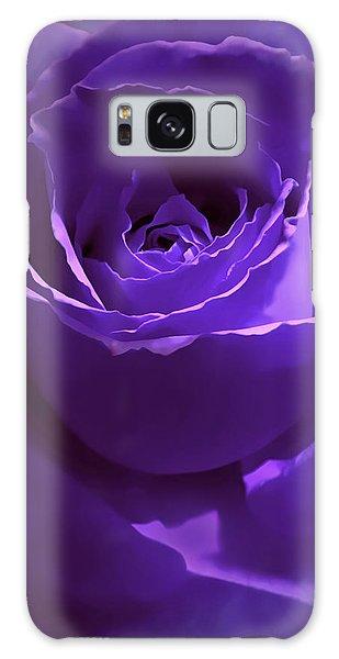Dark Secrets Purple Rose Galaxy Case