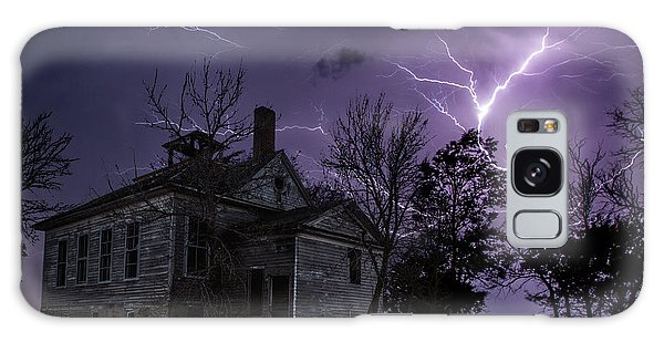 Dark Stormy Place Galaxy Case