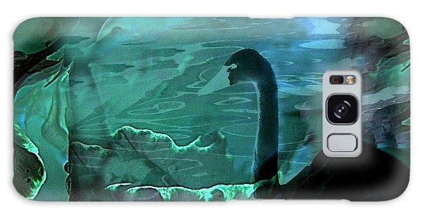 Dark Swan Galaxy Case by Shirley Sirois