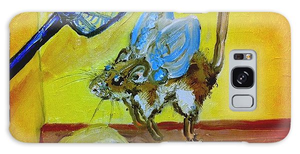 Darn Mouse Flies On Swiss Galaxy Case