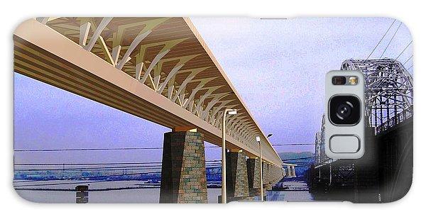 Darnitsky Bridge Galaxy Case