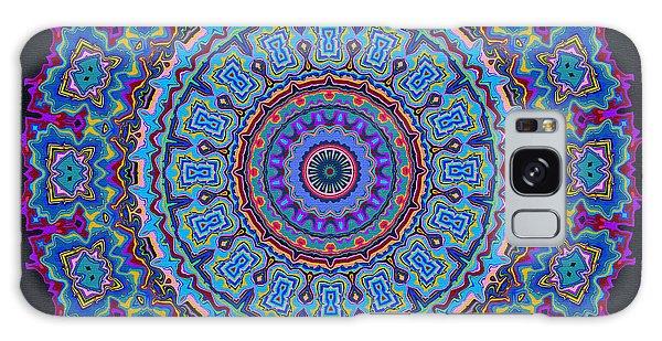 Galaxy Case featuring the digital art Darren's Mandala by Joy McKenzie