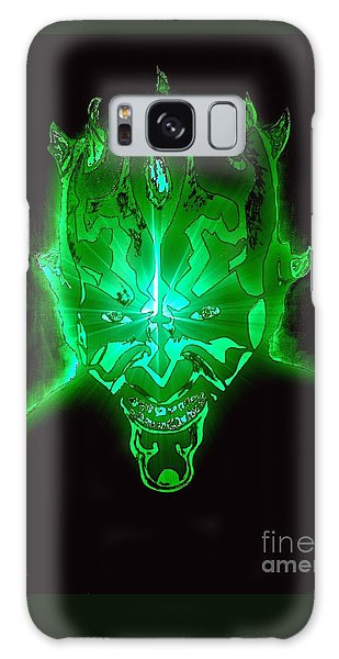 Darth Maul Green Glow Galaxy Case