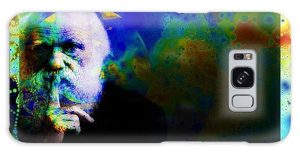 Darwinism Galaxy Case by Elizabeth McTaggart