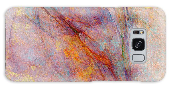 Dash Of Spring - Abstract Art Galaxy Case