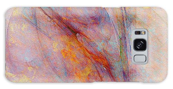 Dash Of Spring - Abstract Art Galaxy Case