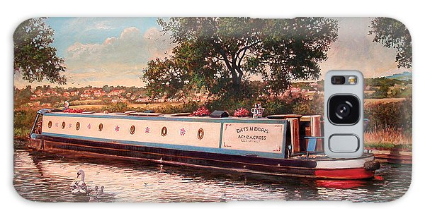 Swan Boats Galaxy Case - Dats And Doris by MGL Meiklejohn Graphics Licensing