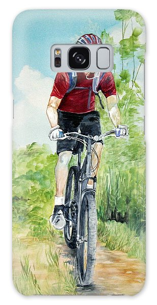 Dave On The Trail Galaxy Case by Ellen Canfield