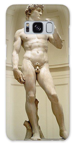 Portraiture Galaxy Case - David by Michelangelo Buonarroti