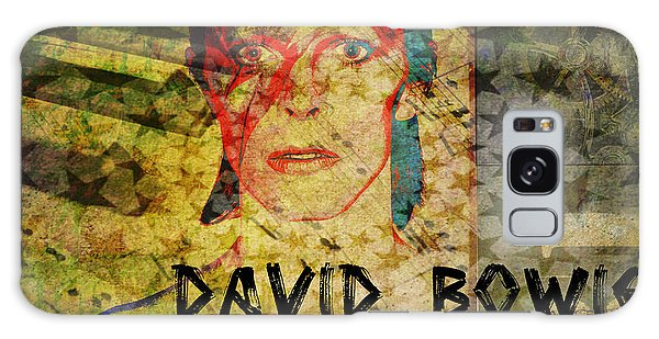 David Bowie Galaxy Case by Absinthe Art By Michelle LeAnn Scott