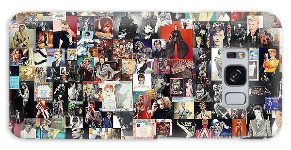 David Bowie Collage Galaxy Case